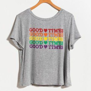Francesca's | NWT Good Times Graphic Tee